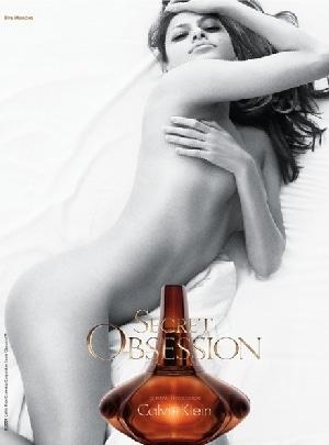 Marquesina Publicidad Eva Mendes Calvin Klein