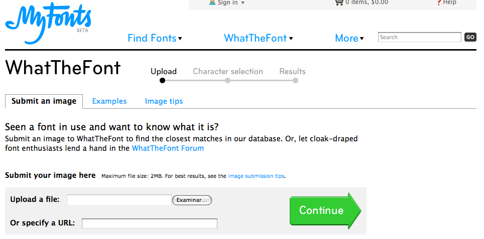 Identificación Tipografía - Portal