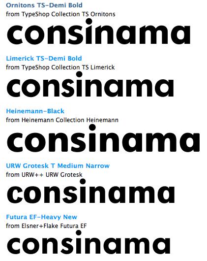 Elegir las opciones para la tipografía