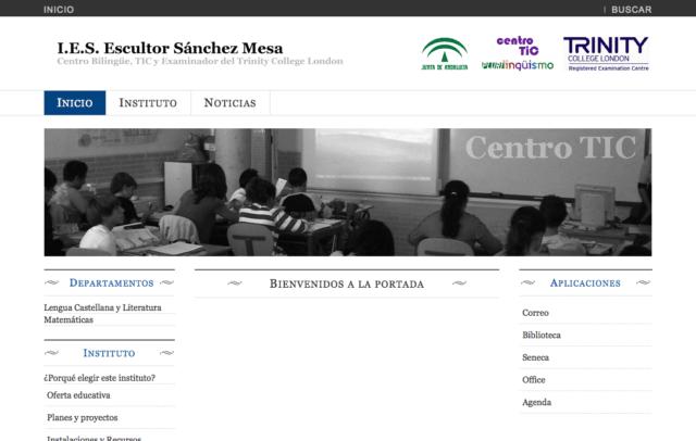 Web Ies Escultor Sanchez Mesa