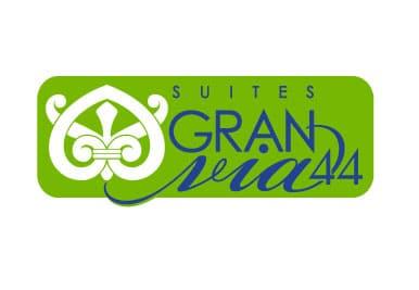 Diseño Grafico del Logotipo Hotel Suites Gran Via en Granada