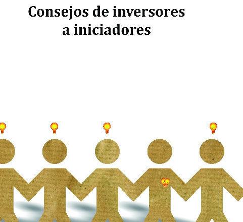 Portada del Libro Consejos de inversores a Iniciadores