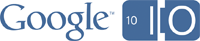 Presentación del evento Google IO Logo