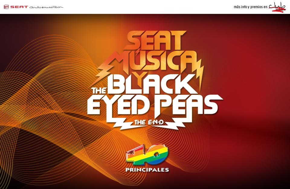 Coreografía con Blacked Eyes Peas