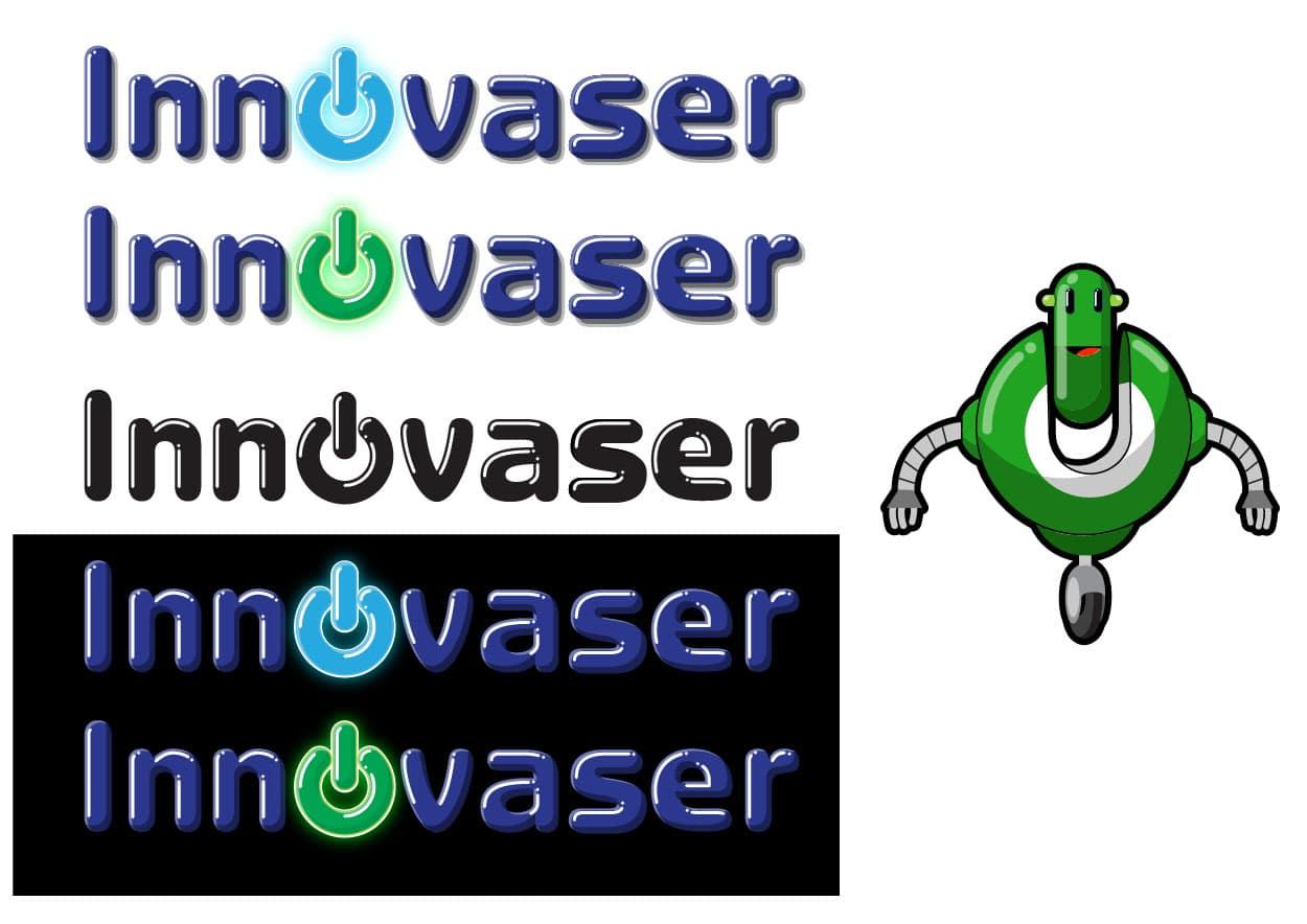 Boceto Logotipo y Diseño Imagen Corporativa Innovaser