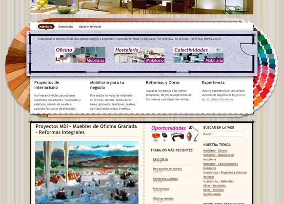 Diseño Web ProyectosMDI Diseño Interiores