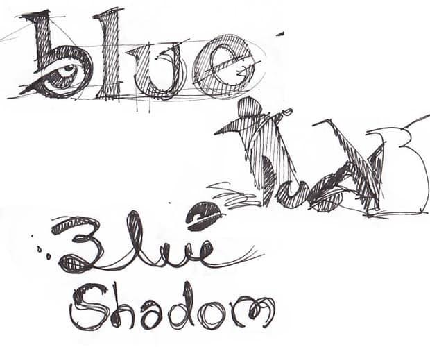 Bocetos realizados antes del diseño del Logotipo