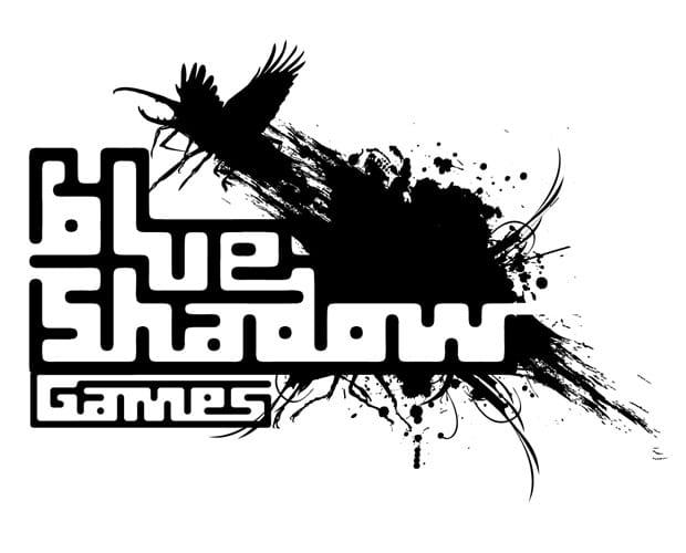 Diseño del Logotipo Blue Shadow a un color