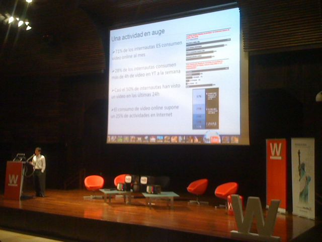 Youtube en el Web Congress de Malaga
