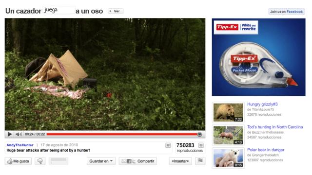 Publicidad Interactiva De Tippex En Youtube