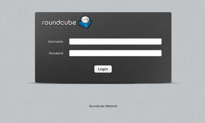 Correoweb gestionado por Roundcube