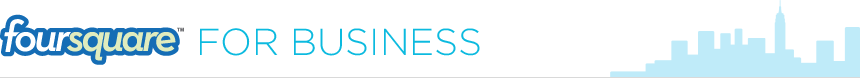 Página de Empresa Foursquare