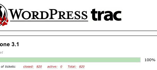 Evolución de WordPress 3.1