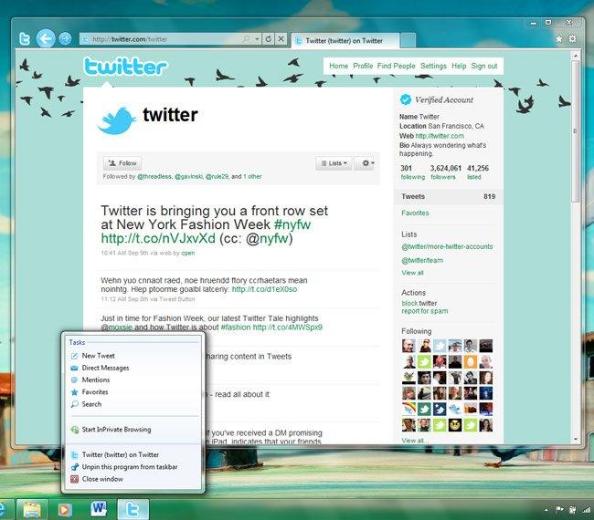 Imagen de Internet Explorer 9