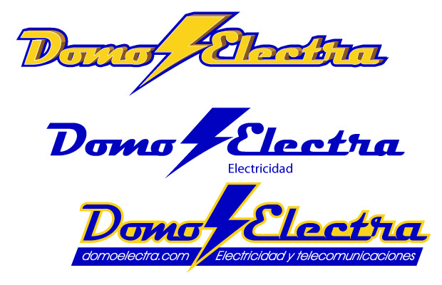 Propuestas de Diseño de Logotipo para Domoelectra