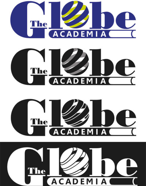 Logotipo Final Academia The Globe