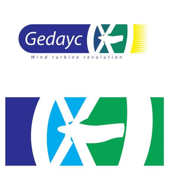 Diseño Logotipo Gedayc primeros bocetos