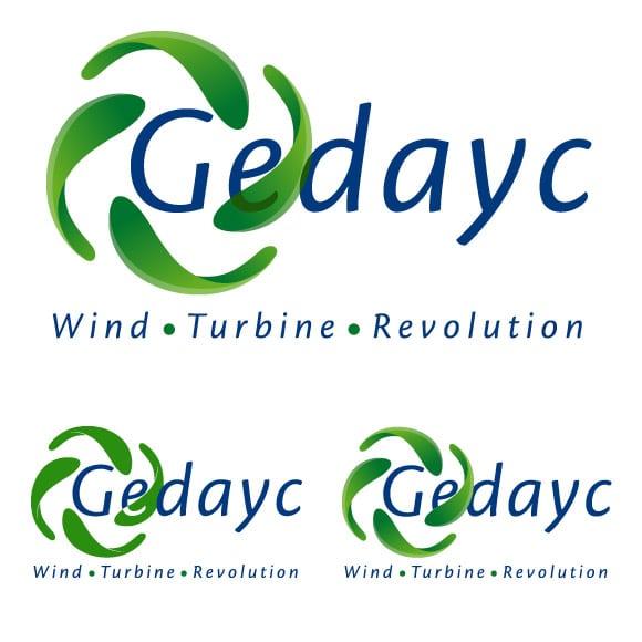 Diseño Logotipo Gedayc con varias variaciones