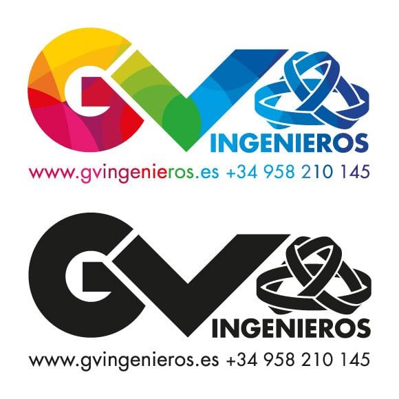 Diseño Logotipo GV Ingenieros Definitivo