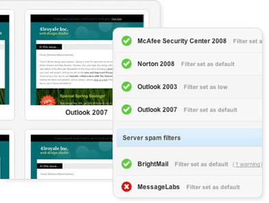 Test Spam y correos para Clientes
