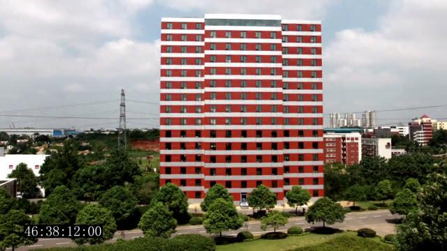 Ark hotel construido en 2 días
