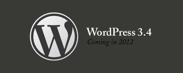 Salida del Nuevo Wordpress 3.4 en breves fechas