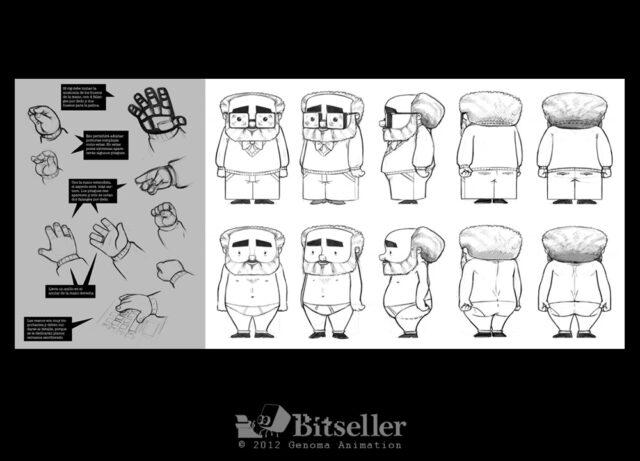 Diseños y Bocetos de Bitseller en Genoma