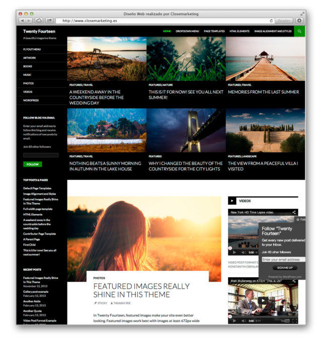 Beta WordPress 3.8