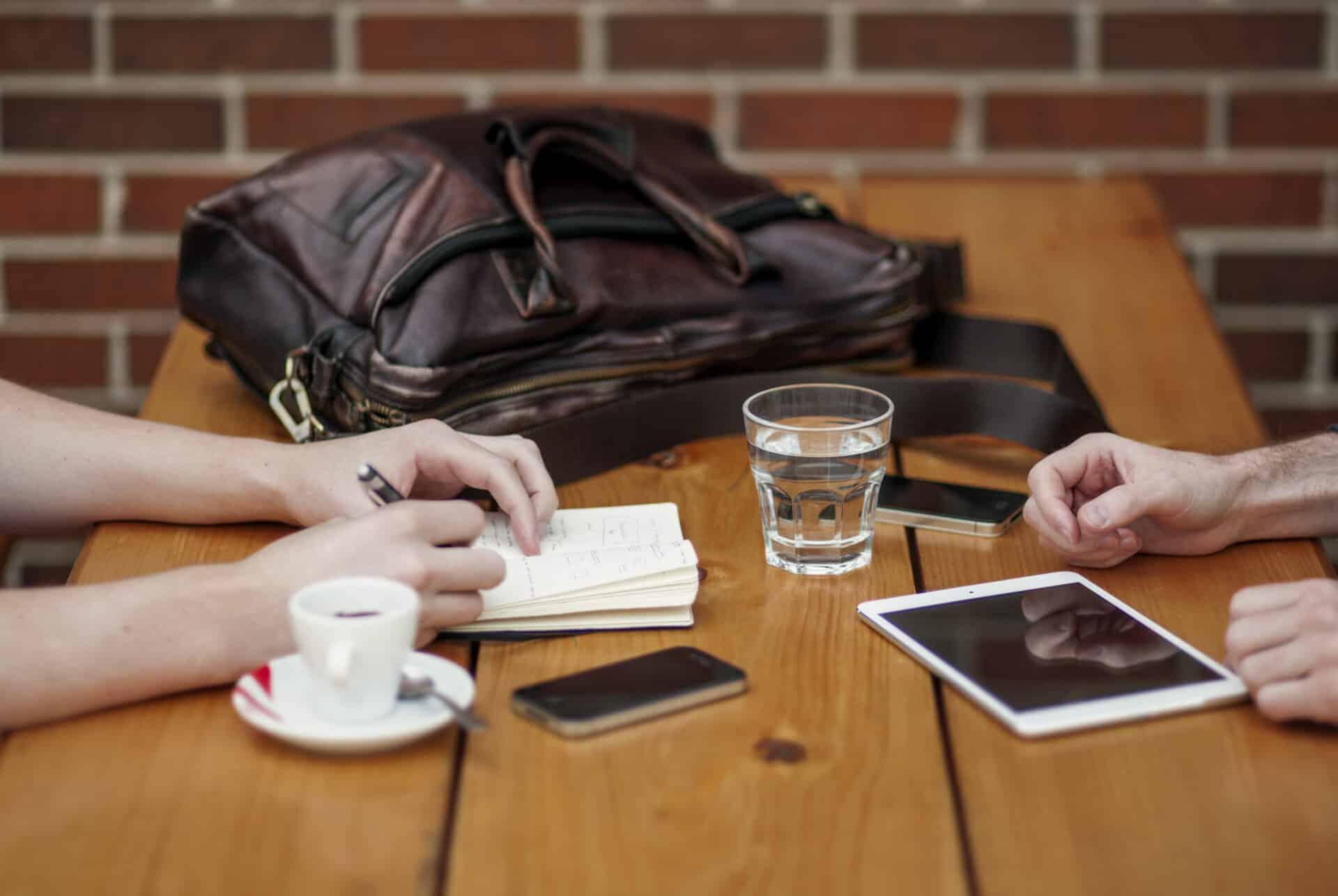 Reuniones y Trabajo en Marketing