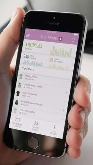 Woocommerce iOS Panel Principal