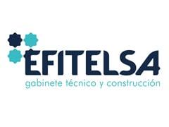 Diseño de logotipo Efitelsa, empresa de construcción en Granada