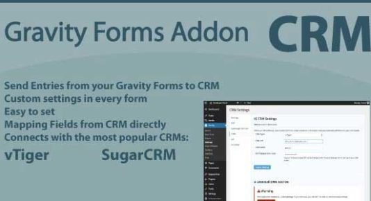 Gravity Forms CRM