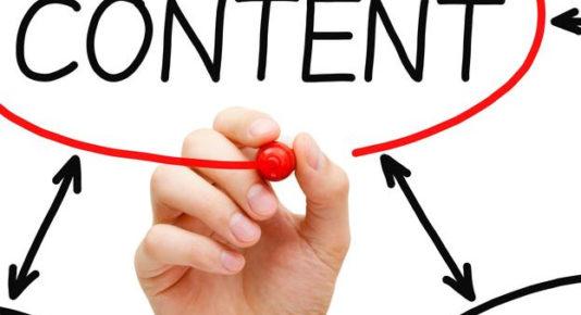 contenido como tráfico web