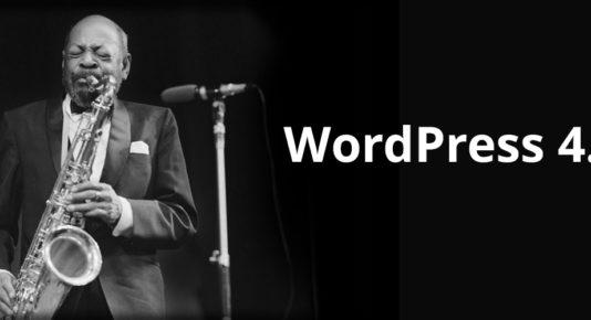 Nueva Versión de WordPress 4.5