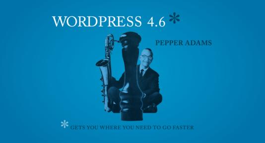 WordPress 4.6 nueva actualización