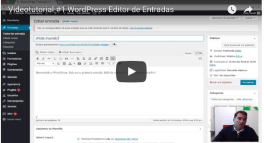 Videotutorial WordPress Edición Básica