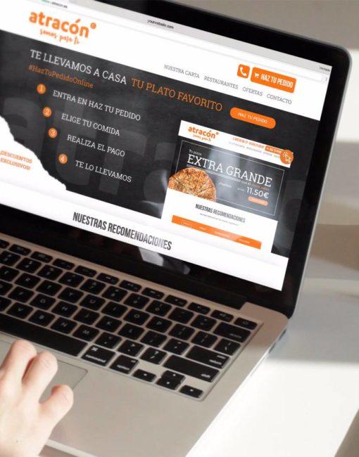 Diseño Web Restaurantes y Pedidos Online