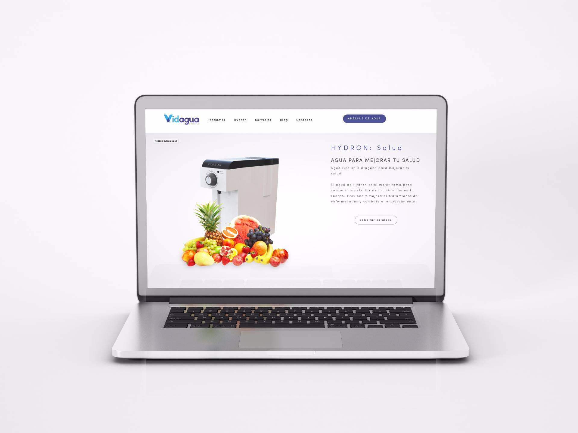 laptop proyecto vidagua