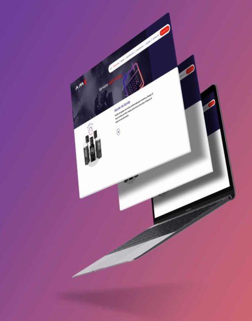 Proyecto Diseño Web AMC Audiovisuales