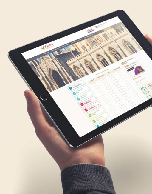 Diseño Web Exámenes Cambridge en Granada