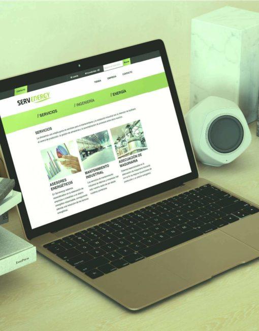 Web Tienda Online ServEnergy Automatismos