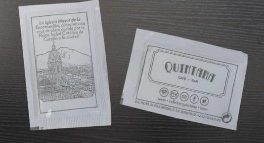 Diseño gráfico de ilustraciones para azucarillos