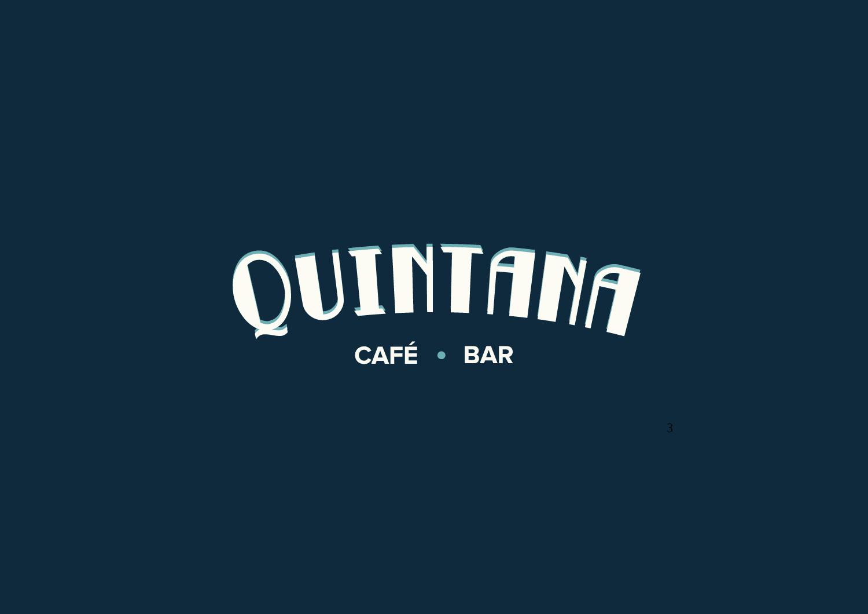 Diseño Gráfico Imagen Corporativa Bar Quintana