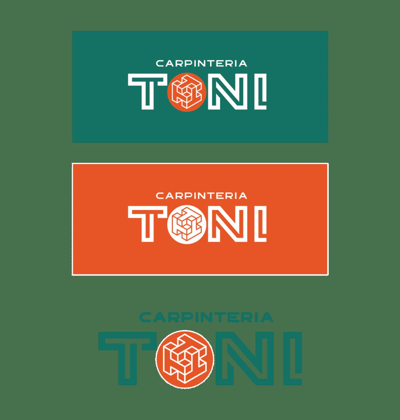 Diseño Identidad Corporativa Carpintería Toni - Agencia de Marketing logo