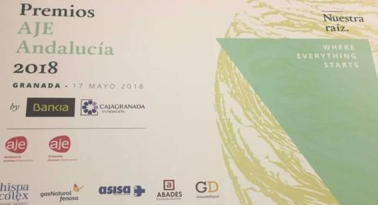 Junta Directiva en Premios AJE Andalucia