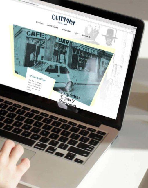 Desarrollo y diseño web en loja granada bar Quintana