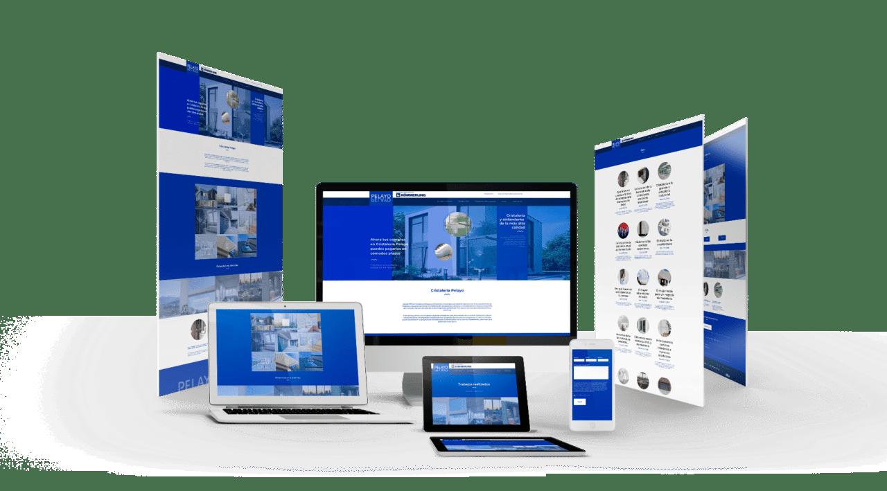Diseño Gráfico Web para Cristalería en Granada