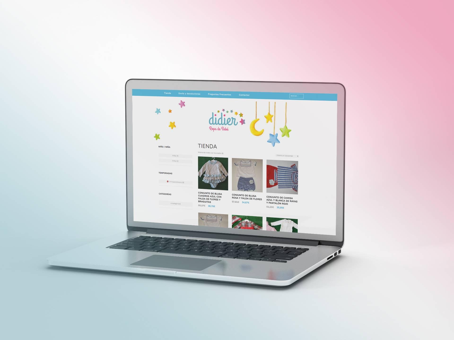 Diseño web: Didier