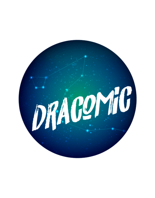 Diseño Identidad Corporativa- Librería Dracomic - Diseño Gráfico logotipo