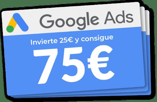 Bonos de descuento en Google Ads